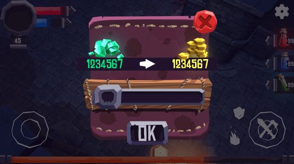 Heroes Curse, UI on Behance