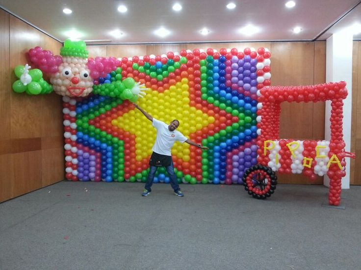 1260 Best Balloon Walls Images On Pinterest