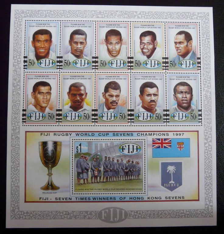 Fiji 1997 - For more #rugby collectables check out my blog: http://www.rocky-rugby.com/