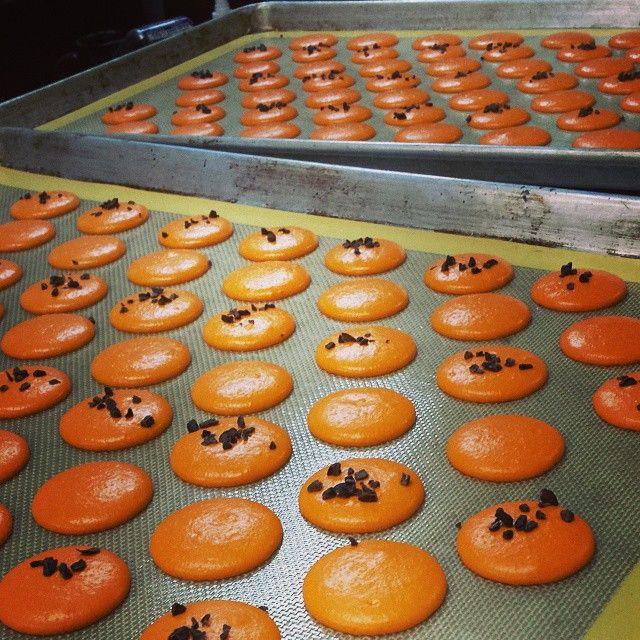 how to make burnt orange buttercream