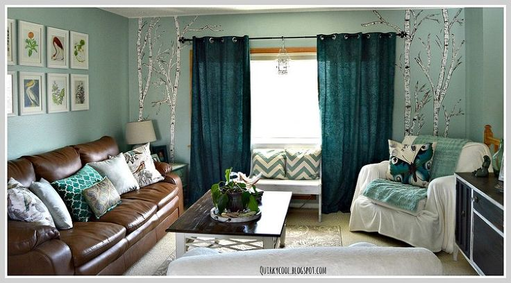 Paint a nature mural to bring serenity to your room ... & to your spirit.