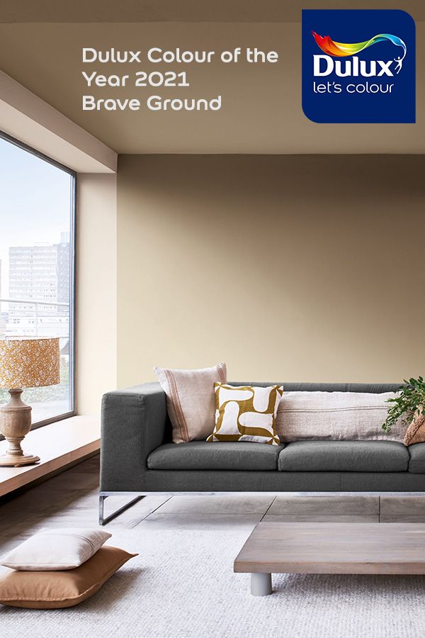 Dulux Colour Of The Year 2021 Brave Ground In 2021 Dulux Paint Colours For Bedroom Dulux Paint Colours Neutral Warm Neutral Paint Colors