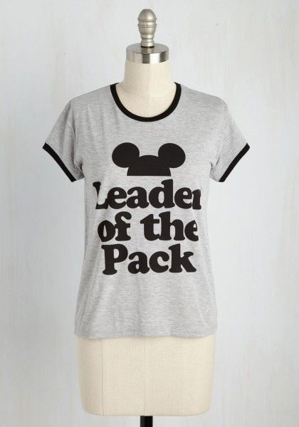 Disney Mickey Mouse Leader of the Pack Tee