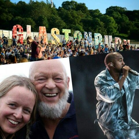 """#GLASTONBURYFESTIVAL 2015 - #KANYEWEST  Since Kanye was revealed as Glastonbury's Saturday night headliner back in March, co-organiser #EmilyEavis has received a number of death threats.  Emily, who runs the festival with her father Michael, is standing by her decision for Kanye to headline the Pyramid Stage, but says the abuse they've received has been """"horrible"""" and """"out of control"""".  There was a similar backlash in 2008 when #JayZ was announced as a headliner at Glastonbury - yet his…"""