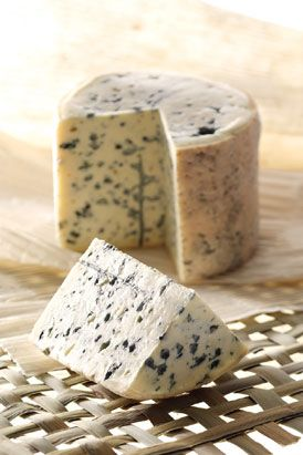 The Auvergne is a great cheese-producing region - look out for Bleu d'Auvergne, Cantal, Saint-Nectaire, Salers and, my personal favourite which is the wonderfully creamy blue cheese, Fourme d'Ambert