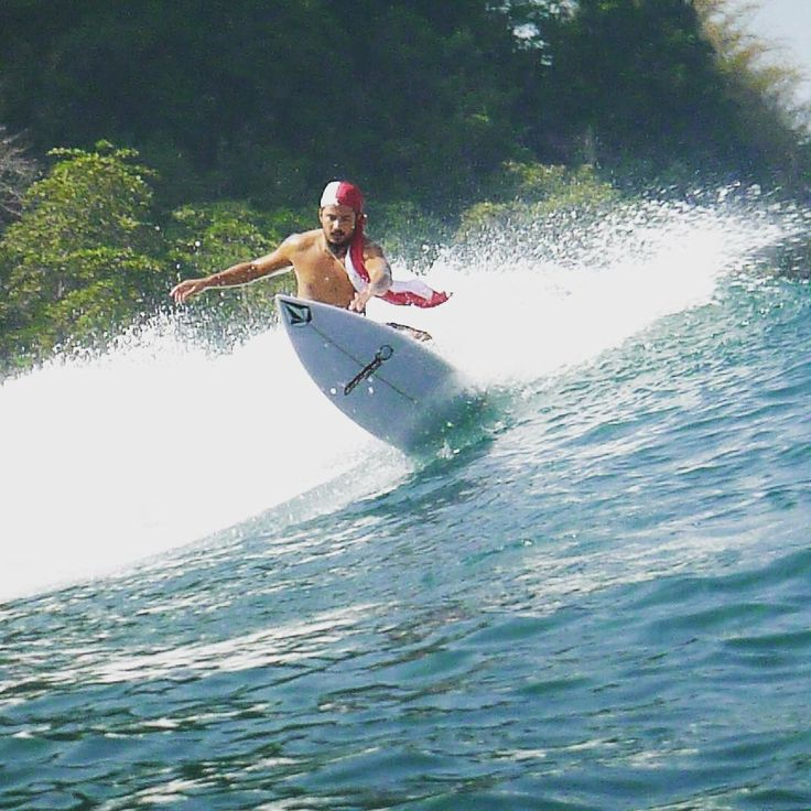 Fathir Muchtar Indonesian flag Indonesian wave