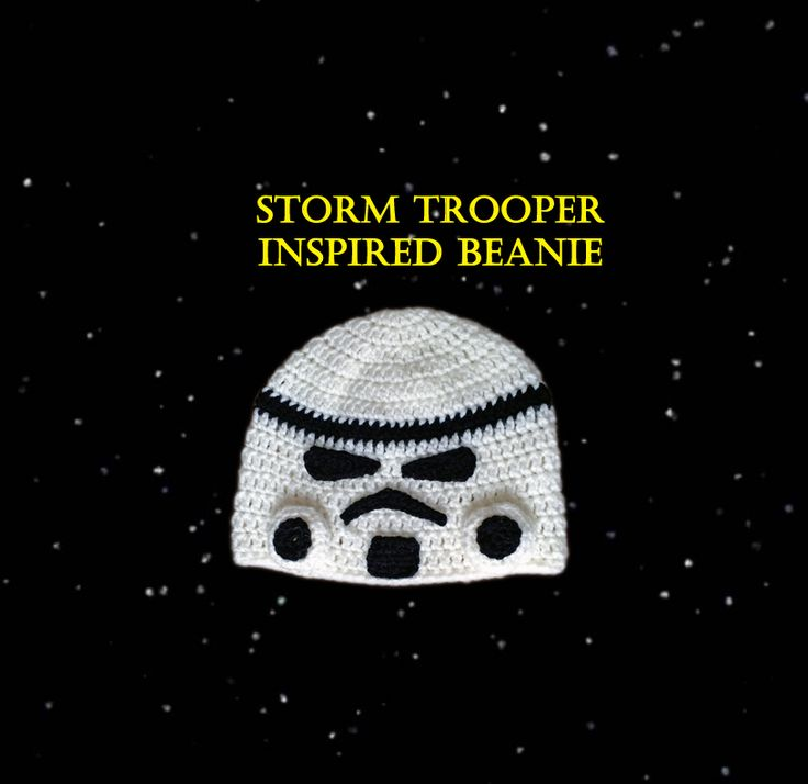 Tampa Bay Crochet: Free Crochet Pattern: Star Wars Storm Trooper Inspired Beanie