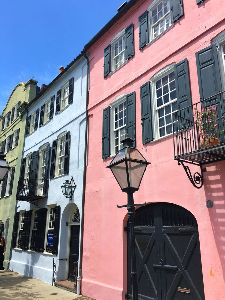 Rainbow Row • Charleston, SC
