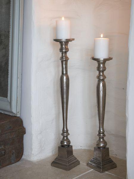Objects Of Design 248 Silver Floorstanding Candlesticks