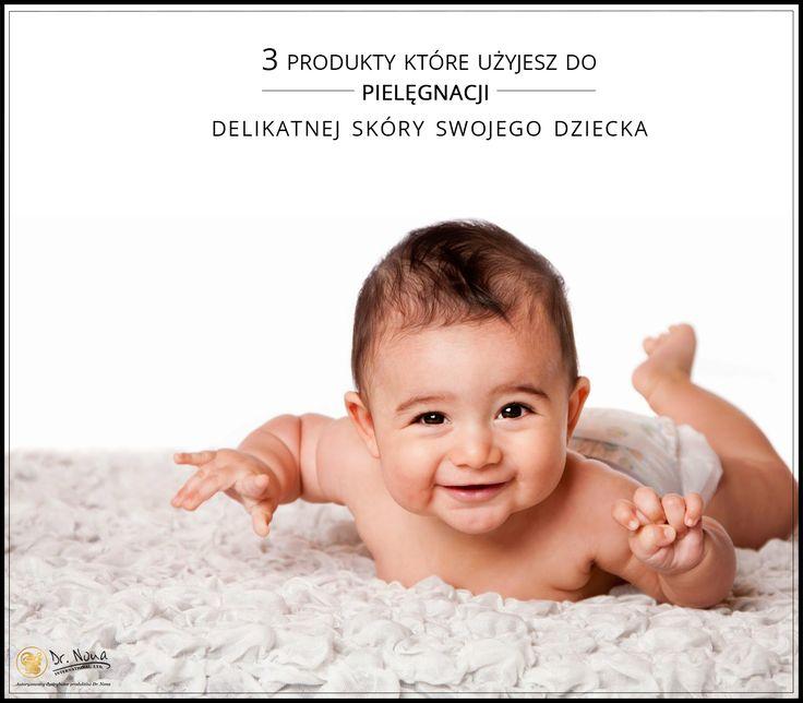 Produkty Dr Nona do pielęgnacji skóry dziecka:  #balsam do ciała  #krem  #sól z Morza Martwego