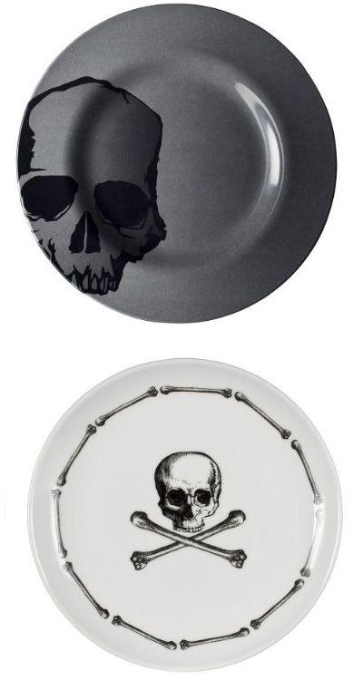 Cool skull plates