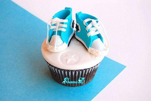 converse cupcake!