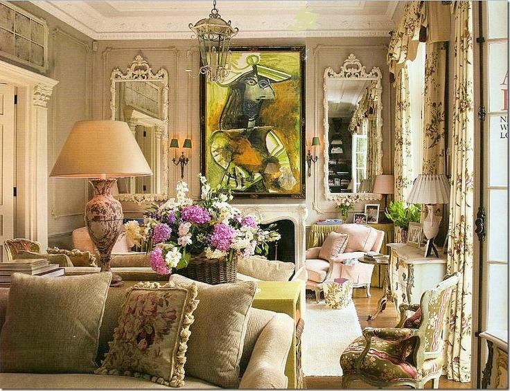 Wir Zeigen Ihnen Als Inspiration 55 Beispiele Fr Wohnzimmereinrichtung Im Shabby Chic Stil Der Bringt Einen Romantischen Hauch