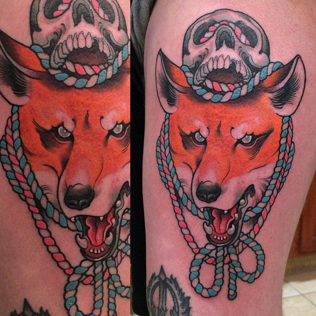 17 Best Ideas About Red Fox Tattoos On Pinterest