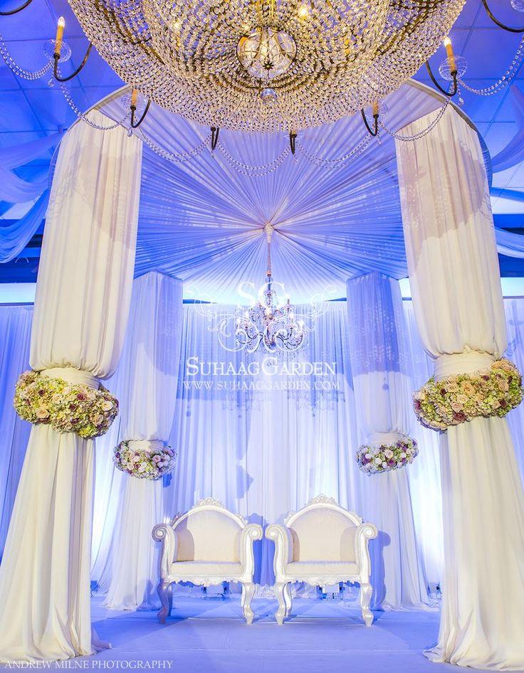 Suhaag Garden, Arabic Wedding, Fabric Mandap, Signature Grand Davie
