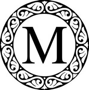 25 Best Ideas About Circle Monogram Font Free On