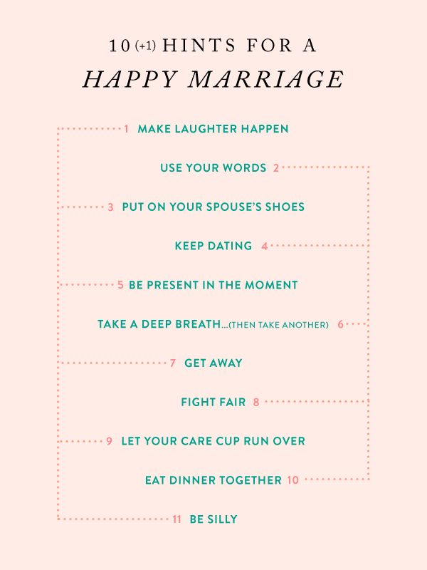 our favorite hints for a happy marriage!  much more to come in this series! :)