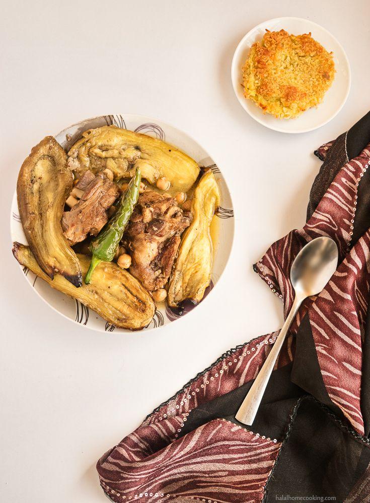 Mderbel Badendjel - Algerian Aubergine Tagine with Lamb / Mutton