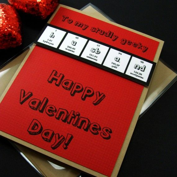 42 best images about Mothers Day Gifts – Chemistry Valentines Day Card