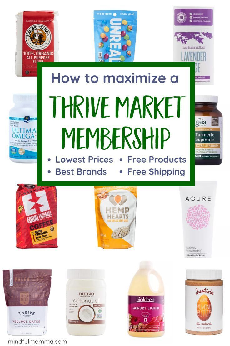 How To Get The Best Deals From A Thrive Market Membership Thrive Market Thrive Market Review Organic Lifestyle