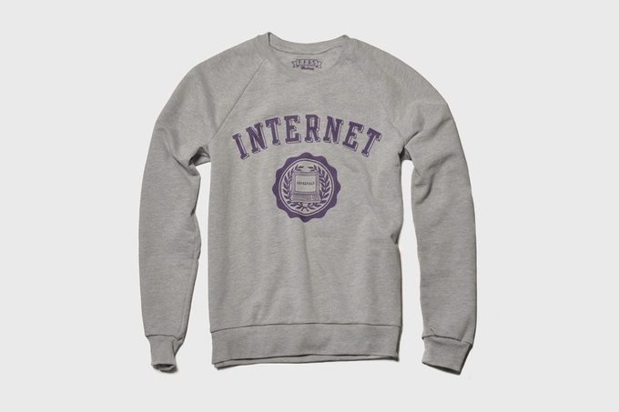 Internet University Sweater