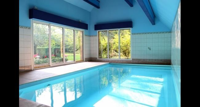 138 best Piscine, bassin et aménagement images on Pinterest Indoor - Gites De France Avec Piscine Interieure