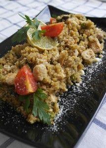 "Csirkés quinoa ""rizottó"" | Sugallatok"