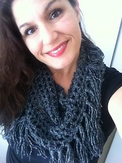 Free triangle fringe scarf pattern on ravelry.