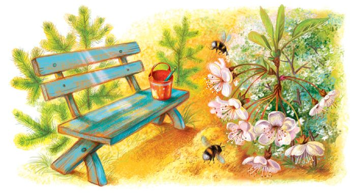 Уголок в саду  Таня Сытая / Tanya Sitaya