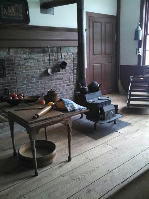36 Stylish Primitive Home Decorating Ideas: American Colonial COUNTRY Antique Primitives II: A