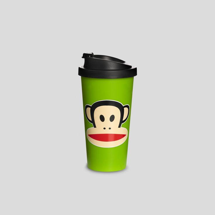PAUL FRANK, Cup to Go Green, Design by Room Copenhagen