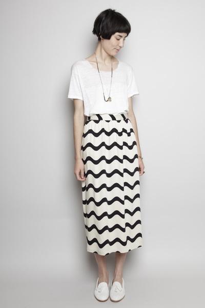 Totokaelo - Dusen Dusen - Long Skirt - Waves