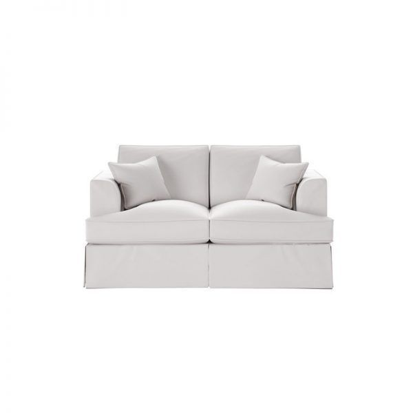 Carly Loveseat Curved Loveseat Carly Sofa Curved Loveseat Cuddle Couch Small Purple Loveseat Off White Loveseat Small White Loveseat Skirted Loveseat