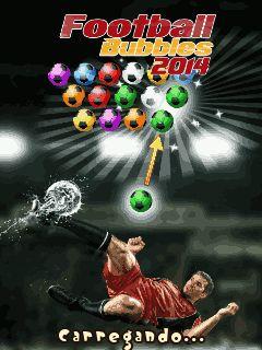 Football Bubbles 2014 para celular - http://www.baixarjogosparacelular.co/football-bubbles-2014/ #JogosEsporte, #celular, #apps, #download, #Smartphone -  Fonte: http://www.baixarjogosparacelular.co - baixar Football Bubbles 2014 java ( Futebol Bolhas 2014 ) – Pratique para se manter em forma para a Copa do Mundo no Brasil, começa o jogo de futebol Bubbles 2014! Colete bolas de futebol por demiti-los por cor, e coleta de 3 ou mais em uma fileira. Aqui estão os refle