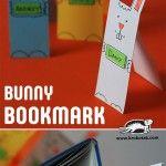 PAPER+BUNNY+BOOKMARK