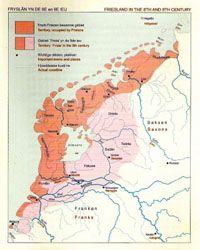 Friesland einde 8e eeuw