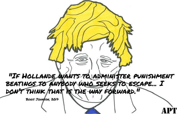 Boris Johnson Brexit quote about French President Francois Hollander #brexit #uk #eu #theeu #borisjohnson #bojo #francoishollande #awakeposttruth