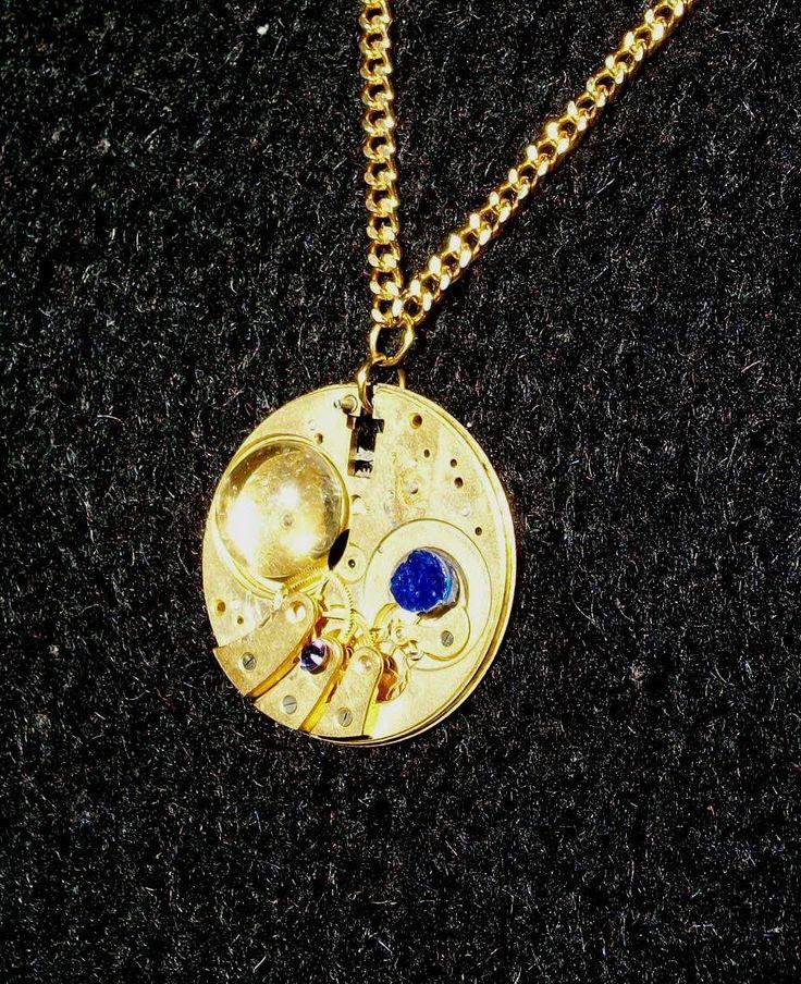 EricaClock: EXCLOCKS ciondoli ricavati da meccanismi di orologi http://ericaclock.blogspot.it/p/i-miei-ciondoli.html