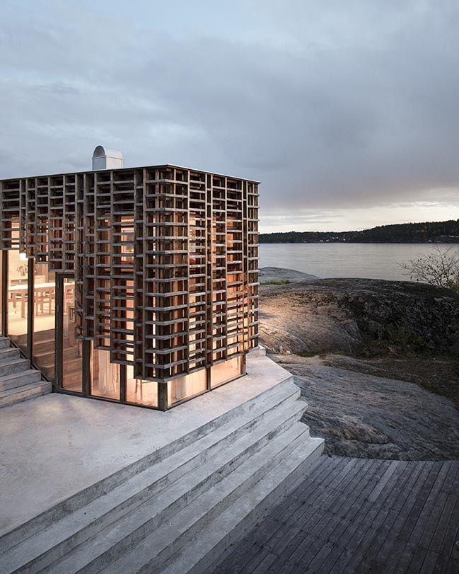 House On An Island Atelier Oslo Architects Minimalist