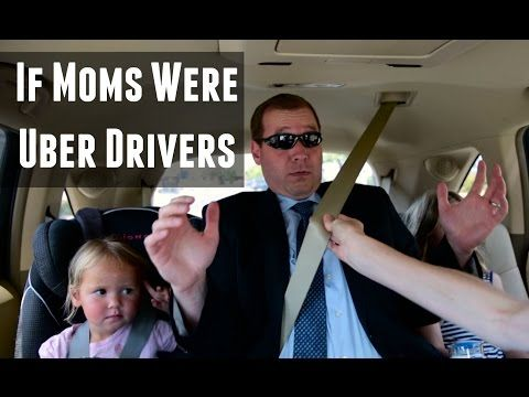 If Moms Were Uber Drivers by @MyLifeSuckers | parenting humor and Mom LOLs