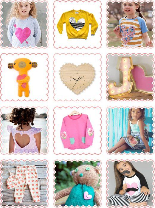 Handmade Hearts, T-shirts, Toys, Leggings