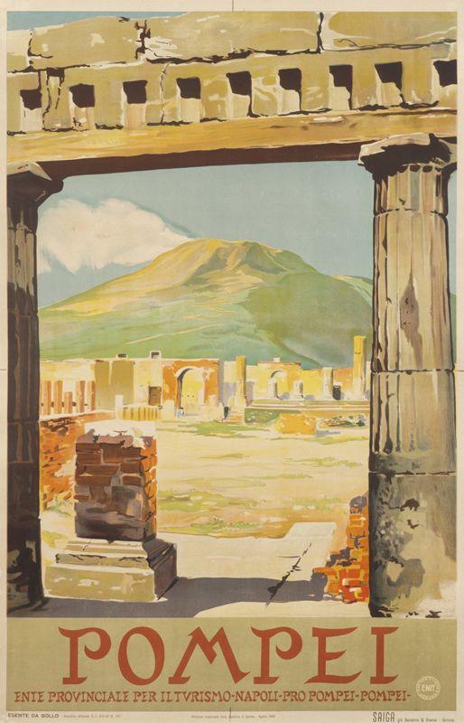 Pompei by Artist Unknown