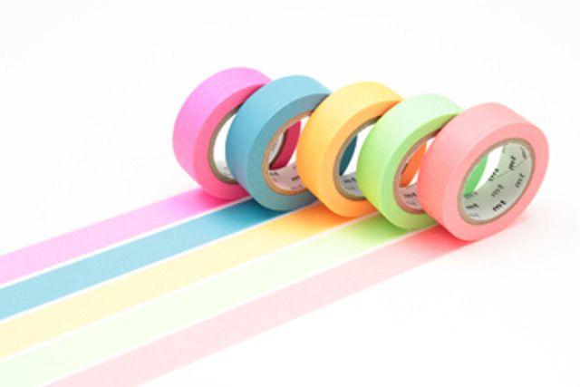 Washi Tape MT Gift Box Neon