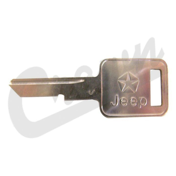 3641914 Ignition Key Blank, 1981-1991 Jeep Wagoneer