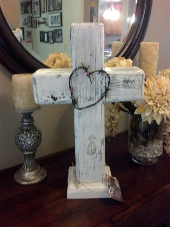 Hey, I found this really awesome Etsy listing at https://www.etsy.com/listing/199349221/custom-made-rustic-standing-wood-cross shabby chic wedding or shower centerpiece