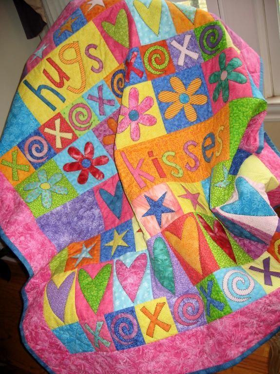 Quilting Project Ideas : 95 best Hugs and Kisses images on Pinterest Embrace quotes, Friend quotes and Daughters