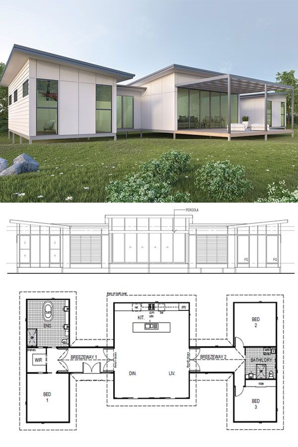 Clear Mountain Designer Kit Home – 177m2 $80,501 by Imagine Kit Homes™