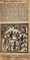 A circle of humans and demons, 1688
