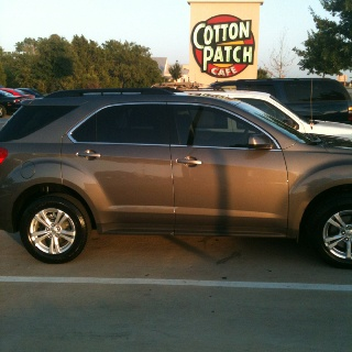 2011 Chevy Equinox...this is what I have....favorite vehicle I have ever owned!