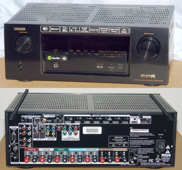 Review of the Denon AVR-X2100W Home Theater Receiver